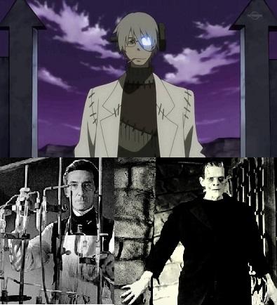 Soul Eater Fraken Stein Anime Still