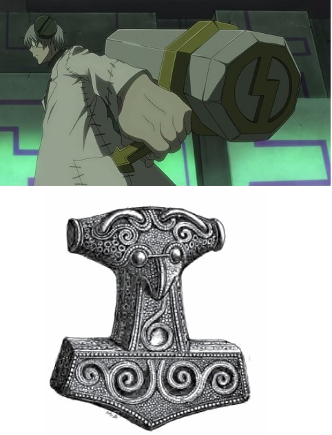 Soul Eater Marie Mjolnir weapon form