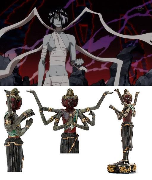 Soul Eater Asura half body shot