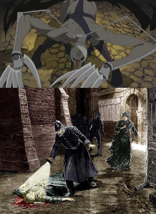 Soul Eater Jack the Ripper