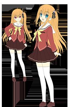 CharlotteYusa Nishimori and Misa Kurobane