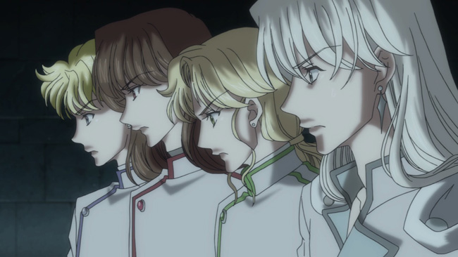 Four Kings of Heaven (Jadeite, Nephrite, Zoisite, and Kunzite) from Sailor Moon Crystal