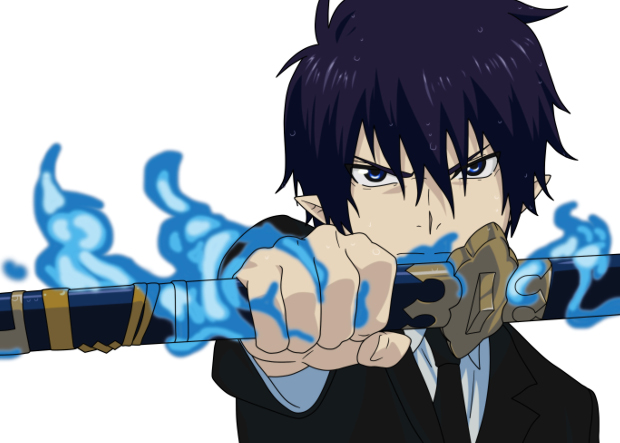 Blue Exorcist Rin Okumura