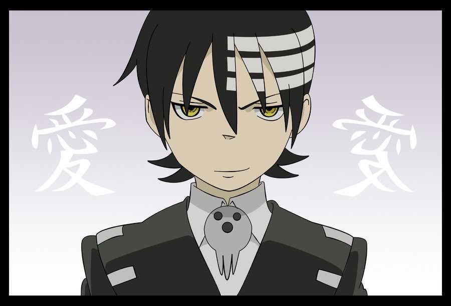 Soul Eater Death the kid close up