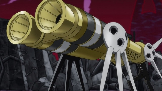Soul Eater Thompson death cannon form