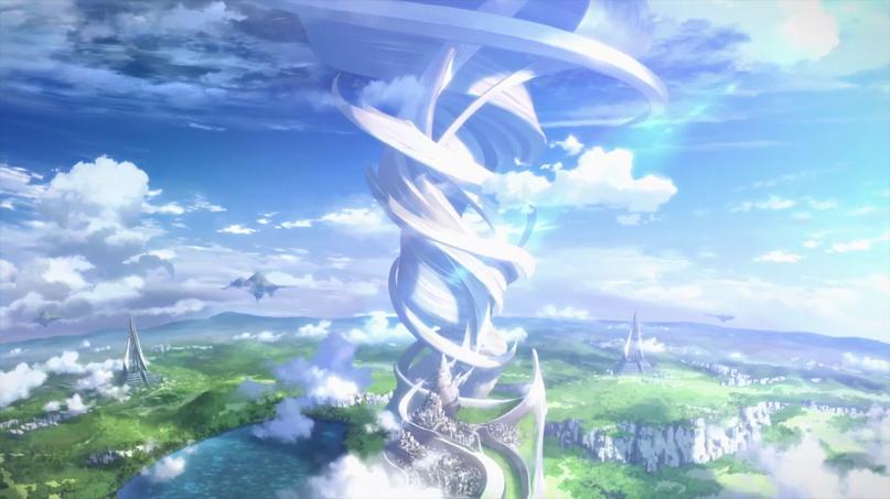 Alfheim Online World Tree Sword Art Online