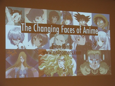 The Changing Faces of Anime