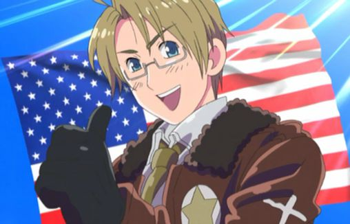 Hetalia Axis Powers-America
