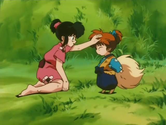 InuYasha Shippo and Girl