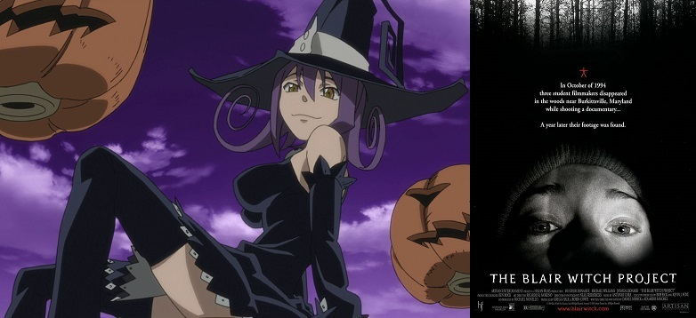Soul Eater Blair and Blair Witch Project