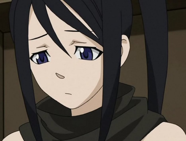 Soul Eater Tsubaki sad close up