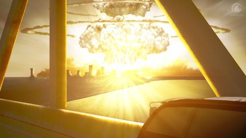 Aldnoah.Zero - explosion