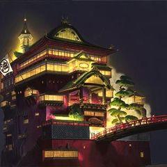 spirited away Sen to Chihiro no Kamikakushi bathhouse