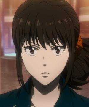 Psycho-Pass 2 - Mika Shimotsuki frown