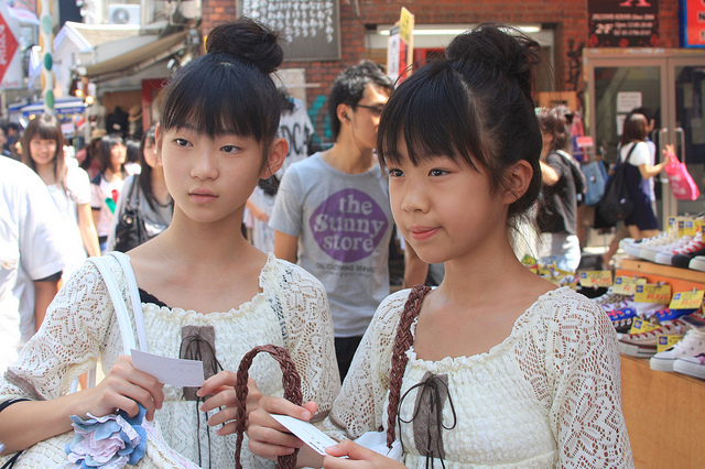 Girls in Takeshita Street