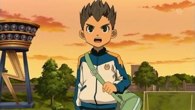 Inazuma Eleven Toramaru as he appears in the anime