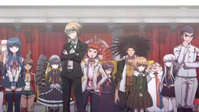Danganronpa: Kibou no Gakuen to Zetsubou no Koukousei The Animation - Group Shot