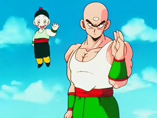 Tien and Cioutzu Dragon Ball Z