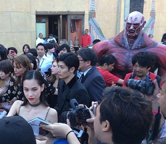 Shingeki no Kyojin Premiere Los Angeles