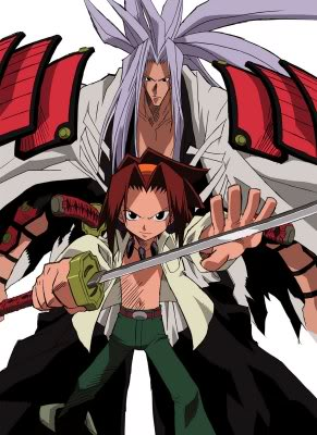 Shaman King Amidamaru and Yoh