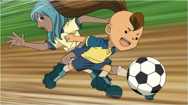 Inazuma Eleven Shourinji running