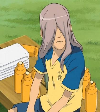 Inazuma Eleven Kageno Jin in the anime