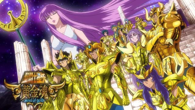 Saint Seiya: Soul of Gold Header