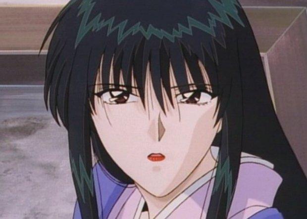 Rurouni Kenshin Megumis face