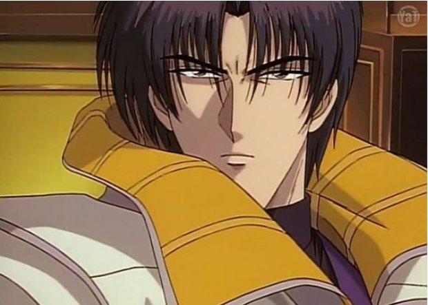 Rurouni Kenshin Aoshi face