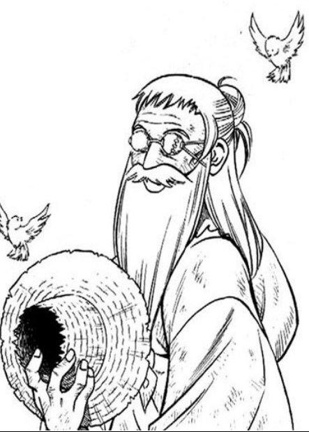 Rurouni Kenshin Geezer being old