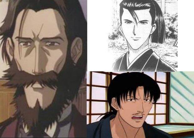 Rurouni Kenshin 3 noblemen
