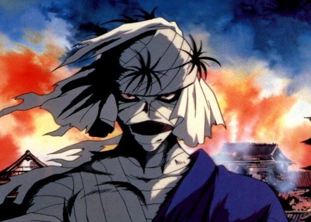 Rurouni kenshin Shishio burns this