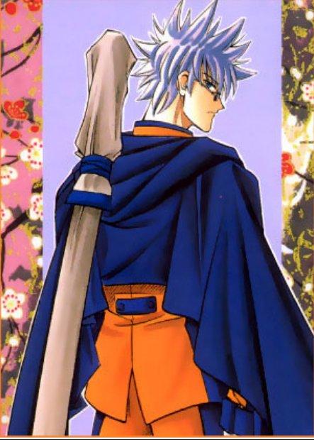 Rurouni kenshin Enishi looks like Naruto