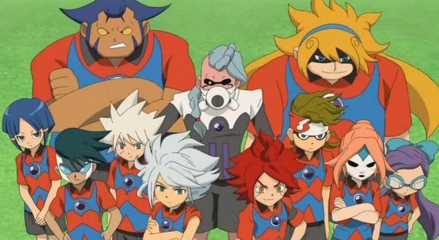 Inazuma Eleven Team chaos