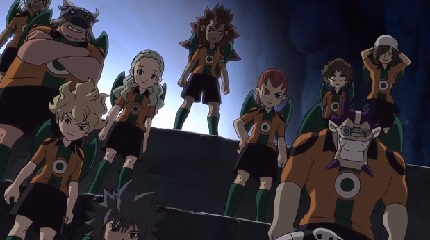 Inazuma Eleven dark angels