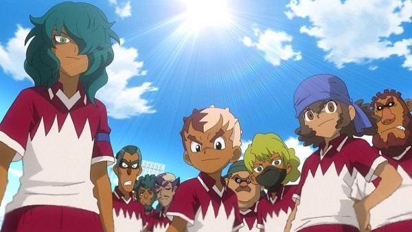 Inazuma Eleven dessert lion anime