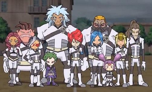 Inazuma Eleven genesis team shot
