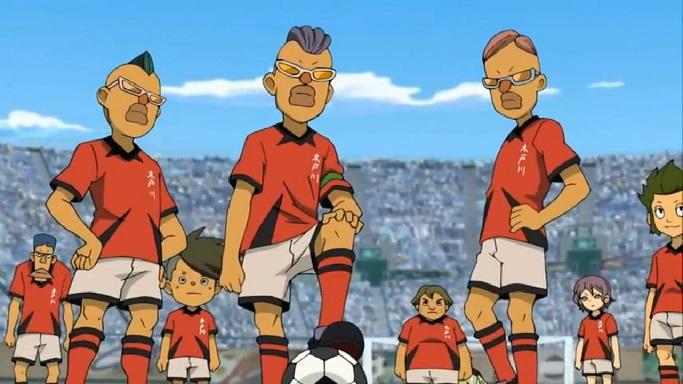 Inazuma Eleven Kidokawa Seishuu anime