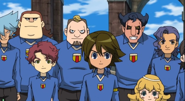 Inazuma Eleven team orpheus