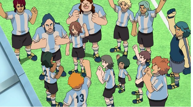 Inazuma Eleven the empire anime