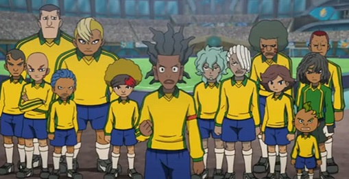 Inazuma Eleven The Kingdom anime shot
