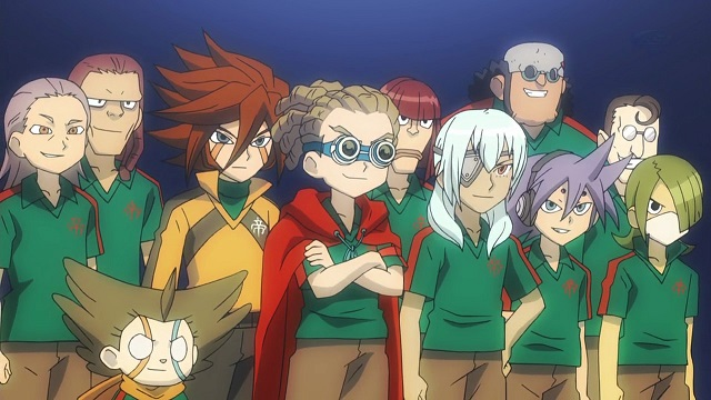 Inazuma Eleven the royal academy