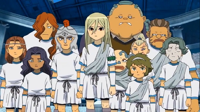 Inazuma Eleven Zeus Junior High
