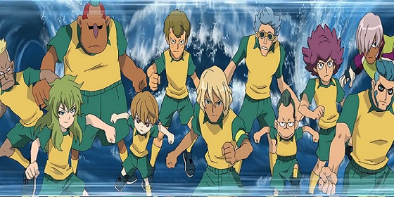 Inazuma Eleven team Big waves