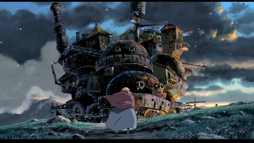 Little Witch Academia Howl's Moving Castle