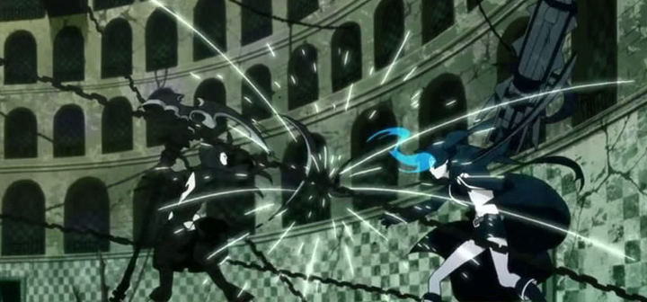 Black★Rock Shooter Fight Scene