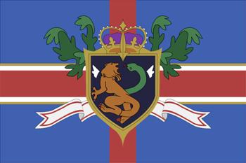Code Geass - Holy Empire of Britannia flag