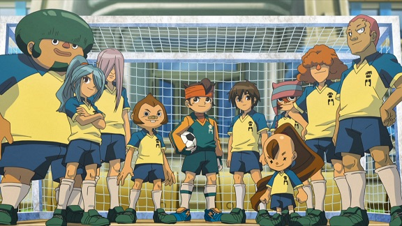 Inazuma Eleven Team Raimon jr high