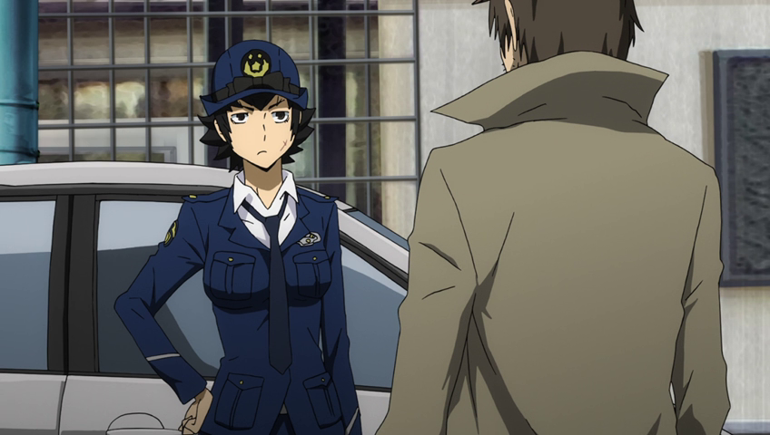 Durarara!!x2 Ten police officer
