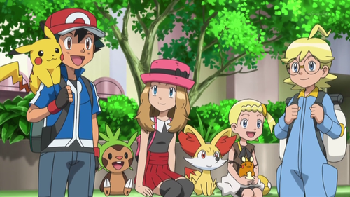 pokemon xy characters